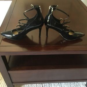 Marc Fisher Patent Leather closed toe pumps